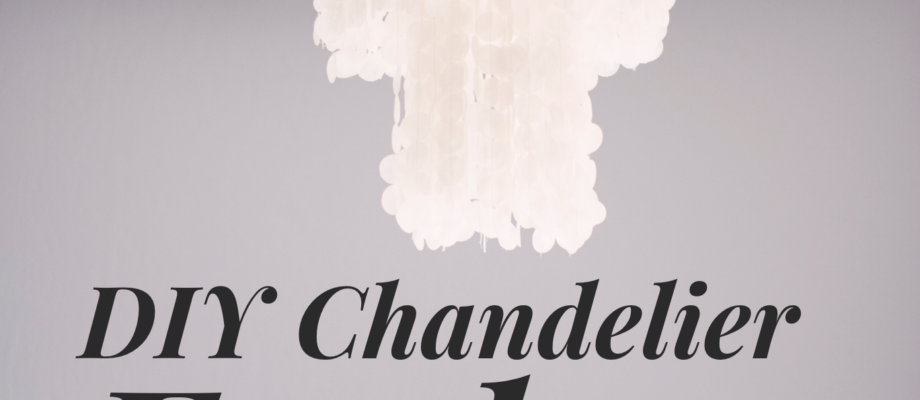 "Gorgeous DIY ""Shell"" Chandelier"