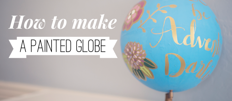 Painted Globe Tutorial