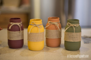 DIY Fall Mason Jar Project